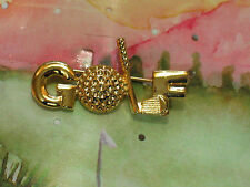 Golf Pin ,  Beautiful Golf  Lapel Pin , (**)
