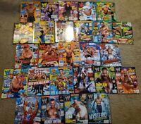 WWE Magazine Lot (November 2010-February 2012) *READ DESCRIPTION*