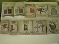 Huge  NEW   Tim Holtz Lot of Cutting Dies   Embossing Folders