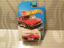 2017 Hot Wheels ''Tooned'& #039; #27 = `68 Mustang = Red us