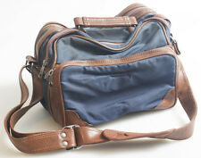 VINTAGE RETRO CAMERA BAG WITH LEATHER PARTS