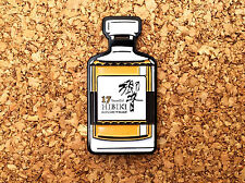 HIBIKI 17 YEAR YR PIN LAPEL SUNTORY YAMAZAKI HAKUSHU BOTTLE JAPANESE Whisky