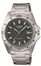 CASIO MTP-1244D-8AJF Standard Analog Silver Black Men's Watch From Japan Genuine