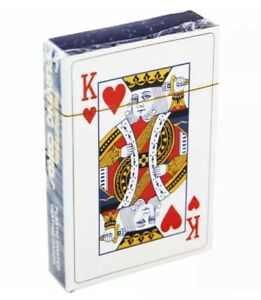 1X Pack of Professional Plastic Coated Playing Cards