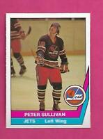 RARE 1977-78 OPC WHA # 27 JETS PETER SULLIVAN  NRMT-MT CARD (INV# C7407)
