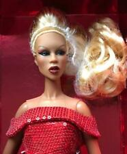 """12.5/"""" Integrity Toys~Red Realness RuPaul Plate /& Cover Set~No Doll~LE 750~New"""