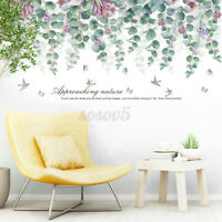 Tree Branch Leaves Removable Wall Decal PVC Large Sticker Mural Home