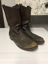 Redwing Boots 10.5 C Pecos 1178 Distressed