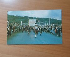 "VINTAGE POSTCARD-GAELIC COLLEGE AT THE OPENING OF""THE ROAD TO THE ISLES""SCOTLAND"