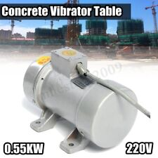 220V 0.55kw Electric Concrete Vibrator Table Vibrating Motor Heavy Duty Tool ❤