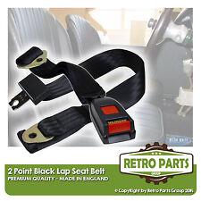 réglable 2 point genou ceinture de sécurité pour classique voiture. ATTACHE Noir