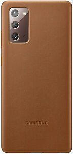 Samsung Note20 Ultra Leather Cover, Brown