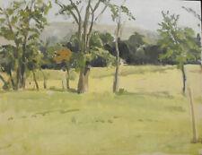 HAROLD J BRUDER Listed MAINE: THE GELBER FARM Oil/Canvas 1972