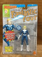 Marvel 1992 Toy Biz Invisible Woman Vanishing Fantastic Four Action Figurine