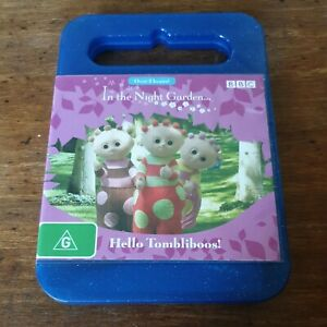 In the Night Garden Hello Tombliboos DVD R4 Like New! FREE POST