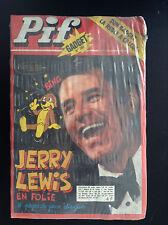 Revue Pif  gadget N° 393 Jerry Lewis SOUS cello AVEC Gadget JAMAIS OUVERT