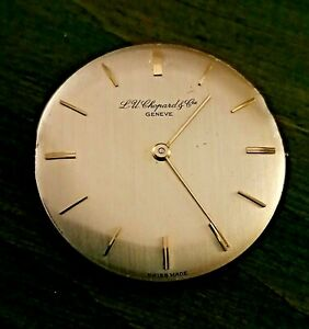 Luc Chopard &cie Geneve Dial And Movement dial can be gold 30,5mm Handwinding