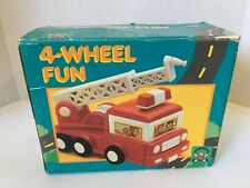 4-Wheel Fun Discovery Toys Interactive Teaching Dump Truck Fire Engine Ambulance