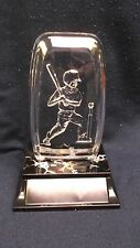 male t-ball acrylic fossil award trophy decorative weighted base