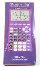 Guerrilla Silicone Calculator Case for Texas Instruments TI-83 Plus Purple