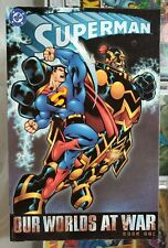 Superman Our Worlds At War - 2002 TP Trade Paper Graphic Novel USED @