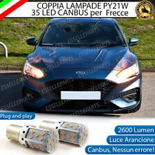 COPPIA LAMPADE PY21W CANBUS 35 LED FORD FOCUS MK4 FRECCE ANTERIORI NO ERROR