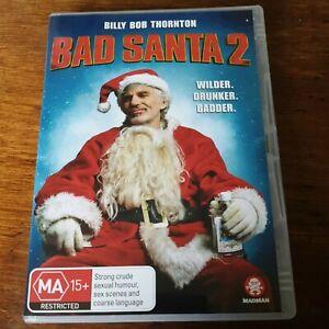 Bad Santa 2 DVD R4 Like New! FREE POST