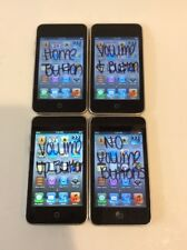 Lot of 4x Apple iPod touch 3rd Generation Black (32 GB) *As Is*