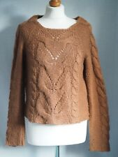 Jumper 12 Brown Cable Knit