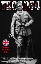 Troop54 Officer Green Howards 1914 WW1 Unpainted kit 75mm