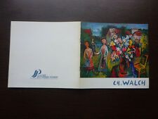 Catalogue Exposition Invitation Galerie J.P. JOUBERT - CHARLES WALCH 1983 (F)
