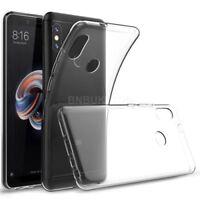For Xiaomi Redmi Note 5 Pro Transparent Clear Silicone Slim Gel Case