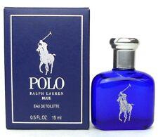 Polo Blue Ralph Lauren Men Mini 0.5 .5 oz 15 ml *Eau De Toilette* Dab-On Nib