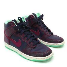 16bc09563360 Nike Dunk Sky Hi Shoes Womens Size 7 Animal Print Purple Raspberry  543242-500