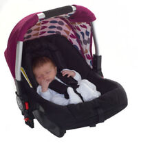 Poussettes et systèmes combinés de promenade rose avec harnais à cinq points pour bébé
