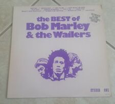 The Best Of Bob Marley & The Wailers - 1976 Studio One Vinyl LP Album
