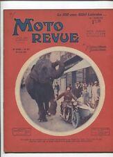Moto Revue N°423  ; 18 avril 1931  : les motersr SACHS et FICHTEL / GILLET 500
