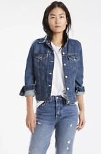 Dreimaster Cool Designer Denim Jeans Jacket, Size Small RRP: £120