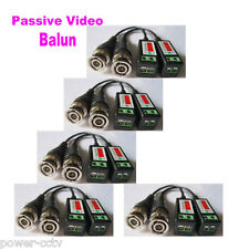 5pair 1CH CCTV Camera Passive Video Balun BNC Connector Cat5 UTP Coaxial Cable