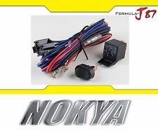 Nokya Relay Wire Harness Nok9190 Head Light Fog Retrofit Replacement Lamp Add-On