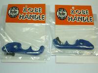 Kobe Handle Vintage BMX Brake Lever Blades Dia-Compe? Blue PAIR Haro GT Dyno