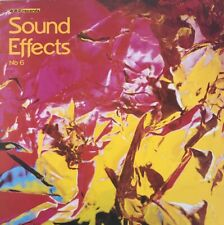 BBC SOUND EFFECTS NO 6 LP BBC UK RED 106M REISSUE PRESSING NEAR MINT