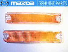NEW!!MAZDA 1989-1992 RX-7 FC3S Corner Turn Signal Lens OEM JDM Park  Lamp Light.