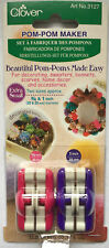 Clover Pom Pom Maker - Extra Small - Small - Large - Extra Large - Sets of 2/3/4