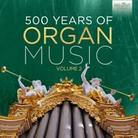 Various Artists - 500 Years of Organ Music 2 [New CD] Boxed Set