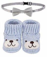 Handgemachte Baby Schuhe, Jungen - Bärchen