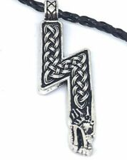 Viking Wolf Sowilo Sun Rune w/ Celtic Knots, Harry Potter Scar, USA seller