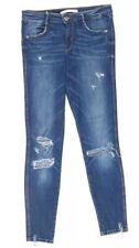 Zara Hosengröße 36 Damen-Jeans mit mittlerer Bundhöhe