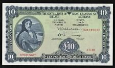 IRELAND 1969  £10  LADY  LAVERY  (02D)  BANKNOTE