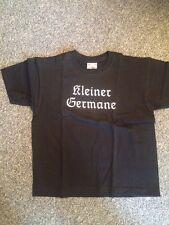 Kleiner Germane T-Shirt schwarz 104 (Metal Kinder,Kids, Odin, Thor, Amon Amarth)